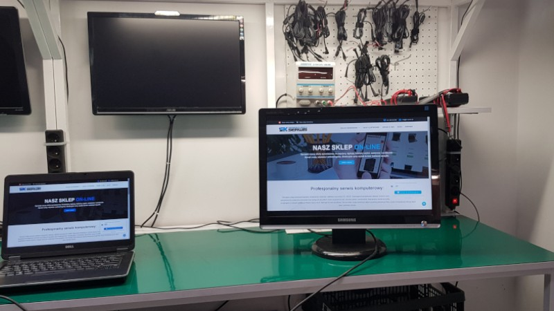naprawa monitora
