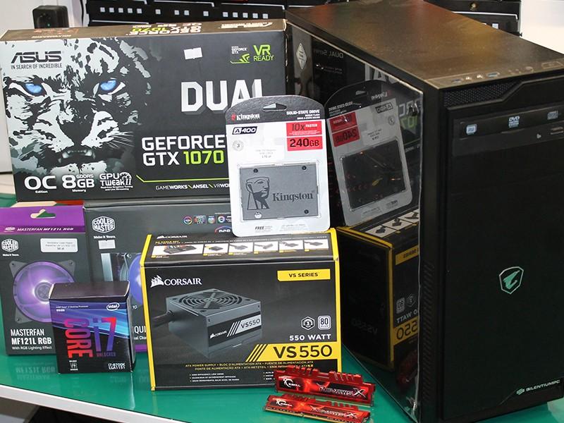 Montaż komputera