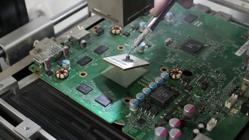 Reballing BGA XBOX 360