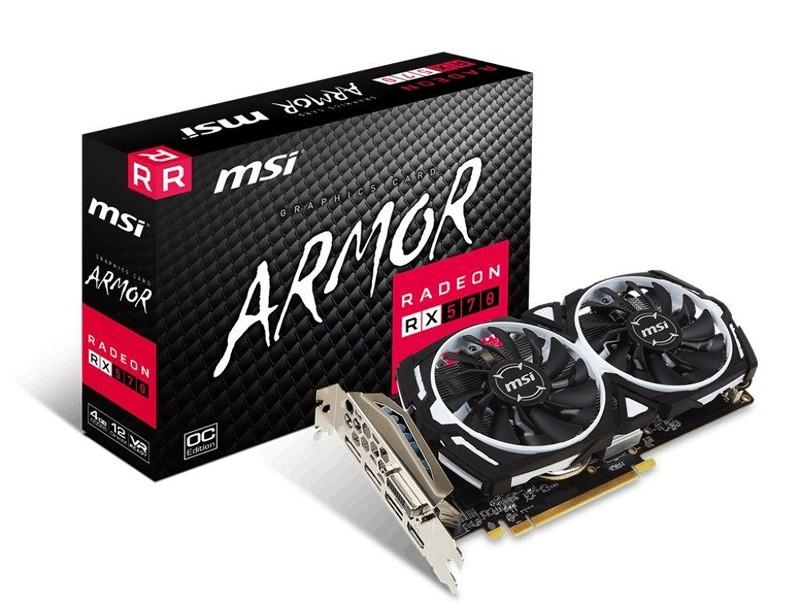 MSI RX 570 OC 4GB
