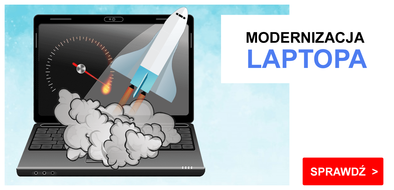 modernizacja laptopa